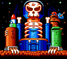 New Wily Castle by hfbn2
