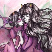 Homestuck: The Rogue and Mage of Heart by mnieva