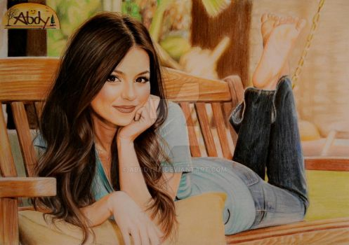finish draw of victoria justice by abadyra