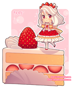 Strawberry Shortcake by DAV-19