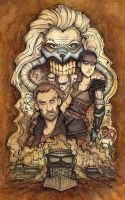 Mad Max Fury Road by CorinneRoberts
