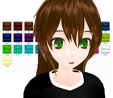 MMD - 'Classic' Hair Texture - DL by Ayodan