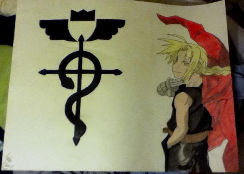 Edward Elric by Saiden13