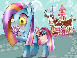 Dolly loves candies! by RubyPM