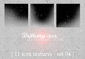 Icon Textures - Set 04 by brittany-xss