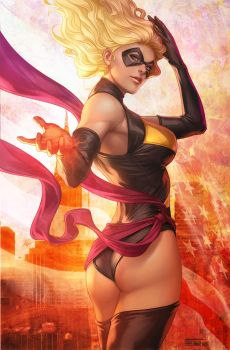 Ms Marvel by Artgerm
