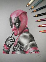 Deadpool by DownfallInDeath