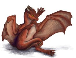 Hatchling -Free Sketch- by Luthrai
