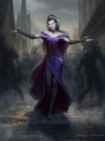MtG Liliana, the Last Hope by depingo