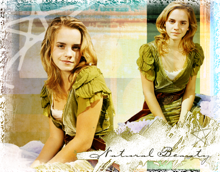 Natural Beauty - Emma Watson by angelicmoonfire