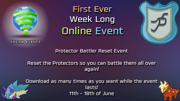 Week long Online Event for ZENFORMS: Protectors by Neo-DragonCP