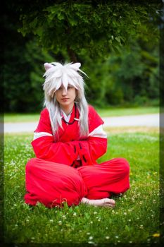 InuYasha- Meditation by twinfools