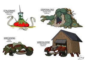 Garbage-Type Pokemon