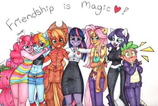 Mlp Friendship Is Magic by MessiJessi2017