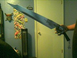Squall Leonhart's Gunblade by Jessguy240