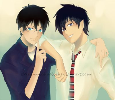 Okumura Twins by Celsy-Michaelis