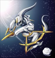 22. December: Arceus. by Soulfoxii