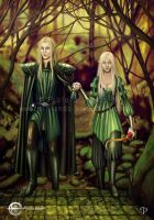 Elven Couple by Taurina