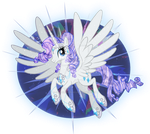 Alicorn Rarity by SapphireGamgee