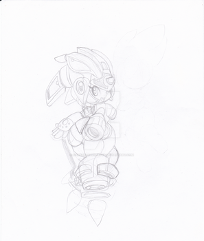 More Mima :sketch: :wip: by darkzeroprojects
