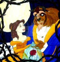 Disney's Beauty and the Beast by InkArtWriter