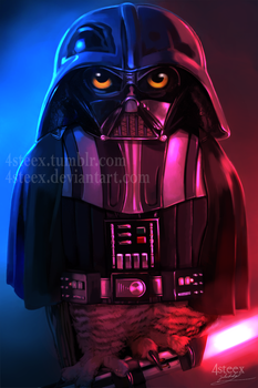 Owlth Vader by 4steex