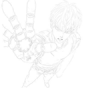 Genos lineart by mortadito