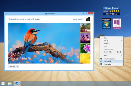Logon Screen by DanielNET