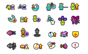 Splatoon ability icons by SimpleDerk