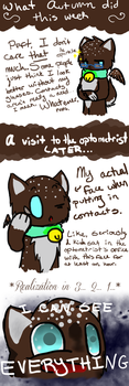 Ask Autumn: Contacts by CharcoalOwl