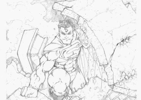 superman by vicmed