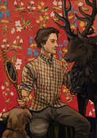 Will and the Ravenstag by hvelfa