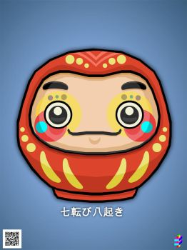 Daruma by TOLLTROLL