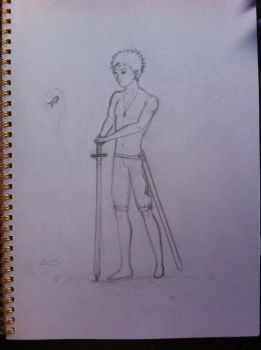 This is Authos .. my Protagonist by Mayble-Leaf
