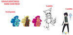 Unsold Second Chance Adoptables [OPEN] by SquirrellyWrathGrl