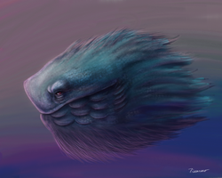 Fishdoodle by thesadpencil