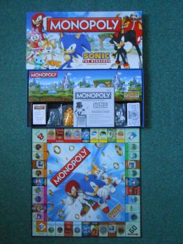 Sonic the Hedgehog Monopoly by BoomSonic514