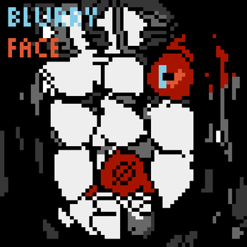 Blurryface pixelart by Shoutingpacman