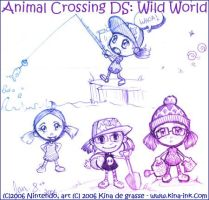 Animal Crossing DS by kina