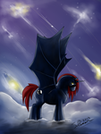 Night Wing~ by MyLittleAsspit