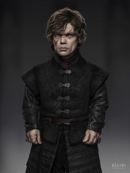 Tyrion Lannister by Aelini
