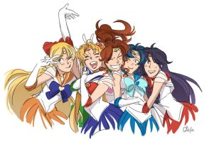sailor moon - viva forever by chirart