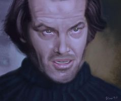 Jack in The Shining by ChristopherCrow