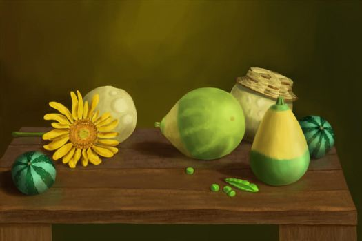 Still life by AtmaCat