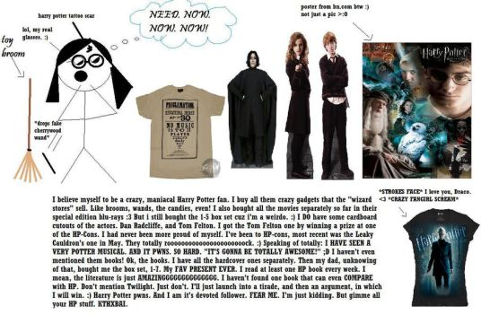 My Open Harry Potter Obsession by Draco-Love
