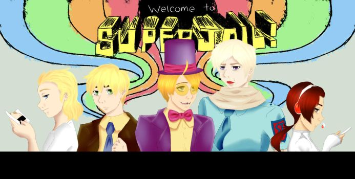 Welcome to Supertalia! by threepinkdoors
