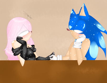 .:DAY 25:.-OTP CHALLENGE-Gazing at each other eyes by Sylly-97