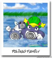 Poliwag Family Photo