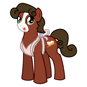 Honey Biscuit - Apron by Sweet-Biscuit