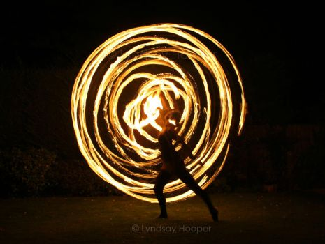 Fire Hoop: Target by AutumnPhyre